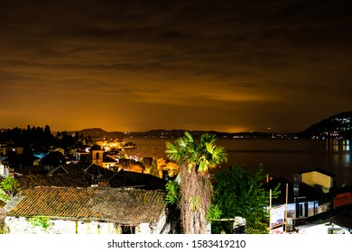 Lago (lake) Maggiore, photo taken from Pallanza by night