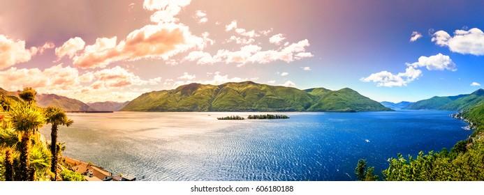 Lago Maggiore, Brissago Island