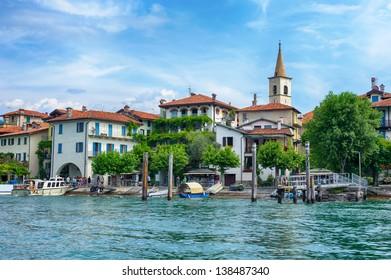 Lago Maggiore and Isola Superiore (dei Pescatori), Italian Alps