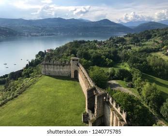 Lago Maggiore view from castle