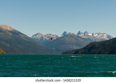 lago puelo national park patagonia argentina
