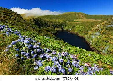 Lagoa Comprida, Flores Island, Azores Archipelago, Portugal, Europe