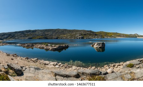 Lagoa Comprida is the largest lake of Serra da Estrela Natural park, Portugal.