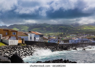 The Lagoa town is located near Ponta Delgada, the capital of the Azores in the Atlantic Ocean