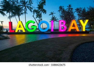 "Lagoi, Bintan Island, Indonesia, 09 May 2018: ""Lagoibay Resort"""