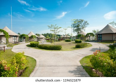 "Lagoi, Bintan Island, Indonesia, October 2018:""The Canopi Resort, Treasure Bay Bintan, South-East Asia' First Crystal Lagoons"""