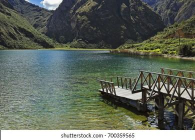 "Lagoon ""3"" in Huancaya"