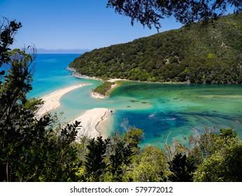 Lagoon - Abel Tasman Nationalpark New Zealand