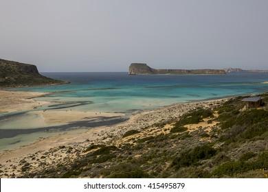 lagoon in Crete