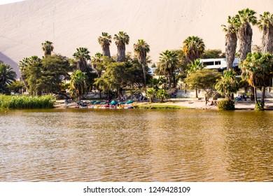lagoon of the huacachina