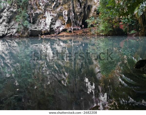 lagoon krabi thailand