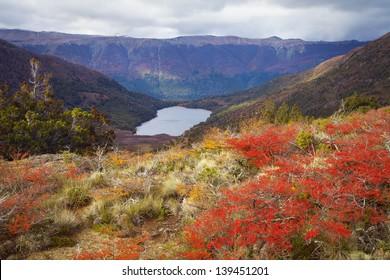 Lagoon Llum, Patagonia, Argentina