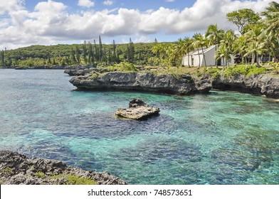 Lagoon on Mare Island, New Caledonia