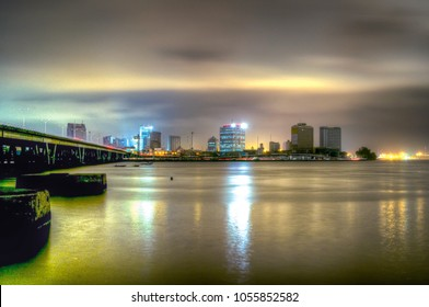Lagos Central Business District, Lagos Island at Dawn