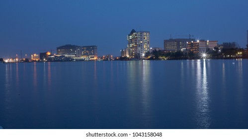 Lagos City Nigeria Skyline
