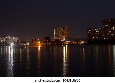 Lagos City Nigeria Skyline