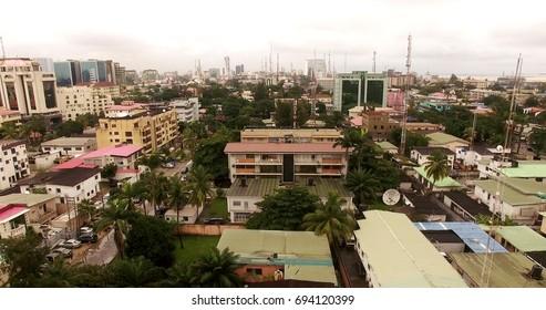 Lagos, Nigeria, Aerial view