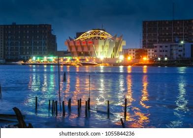 Lagos, Nigeria Skyline at Dawn