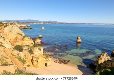 Lagos shoreline, Algarve, Portugal