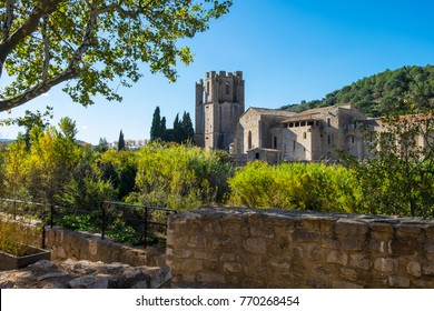 Lagrasse abbey in south of France