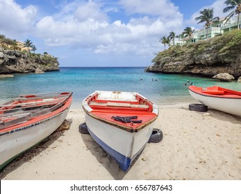 Lagun Beach  Curacao a small island in the Caribbean