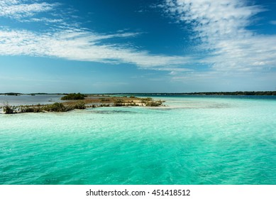 laguna of bacalar, mexico