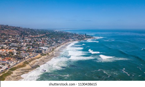 Laguna Beach, Orange County, California USA. Aerial View of the Pacific Coast.