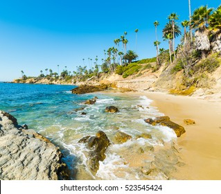 Laguna Beach shoreline, California