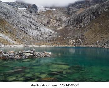 Laguna Chrup, Huascaran National Park, Peru