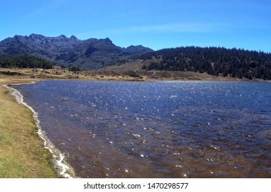Laguna de Mucubají Sierra Nevada Park, in the Merida state of Venezuela