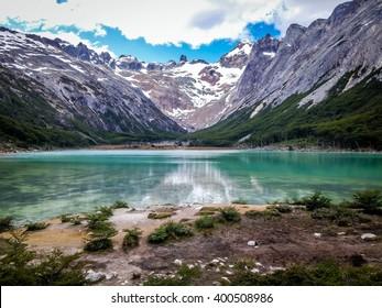 Laguna Esmeralda, Tierra del fuego, Ushuaia, Patagonia, Argentina