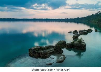 Laguna Lachua lake, Guatemala