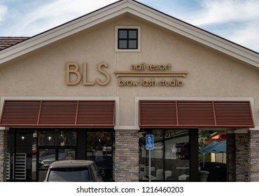 Laguna Niguel, CA / USA - 10/29/2018: BLS Store Location