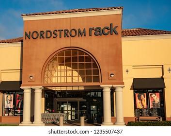 Laguna Niguel, CA / USA - 11/20/2018: Nordstrom Rack Store Location