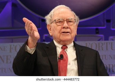 Laguna Niguel, CA, USA; October 8th, 2014; Warren Buffett, Chairman/CEO of Berkshire Hathaway speaks during the 2014 Most Powerful Women Summit.
