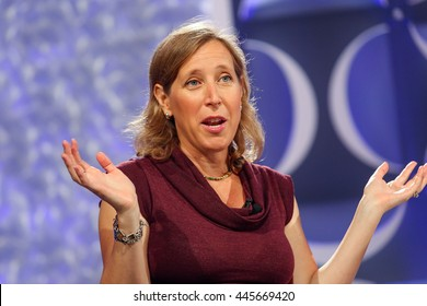 Laguna Niguel, CA, USA; Tuesday, Oct. 7th, 2014; Susan Wojcicki, Chief Executive Officer of YouTube speaks at the Fortune Most Powerful Women Conference