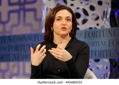 Laguna Niguel, CA, USA; Tuesday, Oct. 7th, 2014; Sheryl Sandberg, Chief Operating Officer of Facebook speaks at the 2014 Fortune Most Powerful Women Summit.