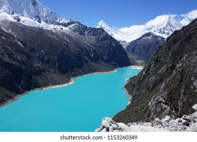 Laguna Paron (largest lake in the Cordillera Blanca on the Peruvian Andes)