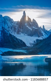 Laguna Torre trek at Los Glaciares National Park, El Chalten - Argentina.