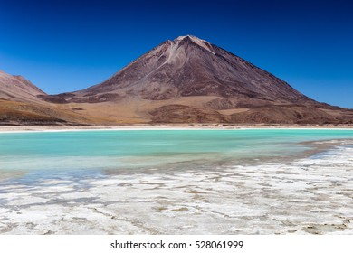 Laguna Verde is a stunning place in Bolivian Altiplano, near Atacama in Chile