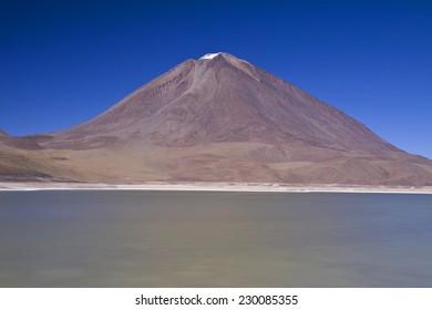 Laguna Verde and Volcan Licancabu, Potosi region of Bolivia