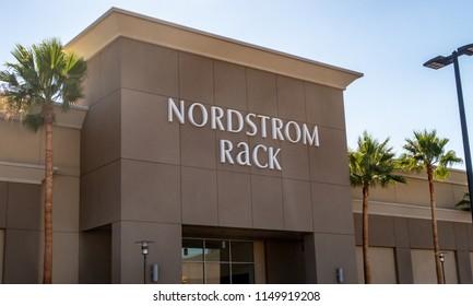 Laguna Woods, CA / USA - 08/05/2018: Nordstrom Rack Location