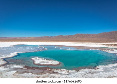 Lagunas Escondidads: Amazing group of 5 lagoons at 1 hr from San Pedro, where you can enjoy the beautyness of the formation process of them, the colors and the minerals in them.