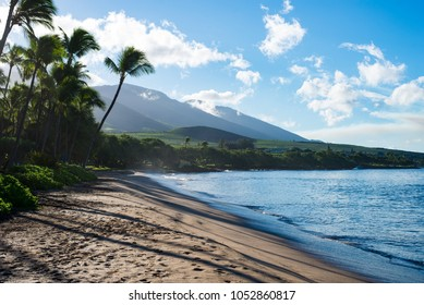 Lahaina beach on the island of Maui Hawaii