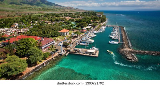 Lahaina Harbor - Island of Maui, Hawaii