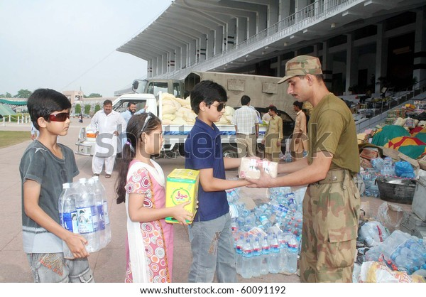 Lahore Pakistan Aug 30 Army Official Stock Photo (Edit Now