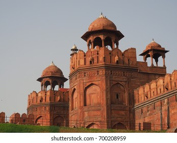 Lahori Gate at The Red Fort, Delhi, India