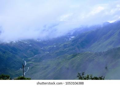 The Laitlum Canyon, Meghalaya