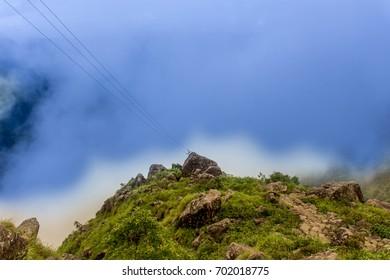 Laitlum Canyon, Meghalaya, India
