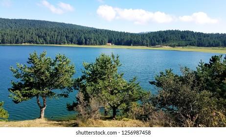 Lake Abant in Bolu, Turkey